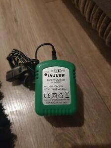 INJUSA BATTERY CHARGER 6V 0.6A/3.6VA GREEN ADAPTOR NR606UK