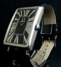 luxury Mens Gift Art Deco Watch Antique 1957 Chronometer Large Silver Case