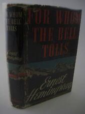1st Edition FOR WHOM THE BELL TOLLS Ernest Hemingway FIRST PRINTING Nobel Prize