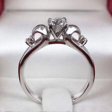 Simulated Diamond White Gold 18k Wedding & Anniversary Bands