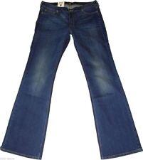 Faded Lee Damen-Bootcut-Jeans mit niedriger Bundhöhe (en)