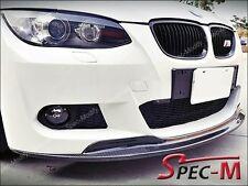 AK Style Carbon Fiber Front Bumper Lip Fits BMW E92 328i 335i Coupe w/ M sport