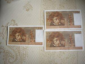 Exceptionnels billets 10 francs Berlioz