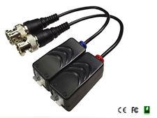 HD Video Balun HD-CVI TVI AHD & CVBS Video up to 440m (PAIR) push pin pigtail