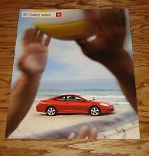 Original 2005 Toyota Camry Solara Sales Brochure 05