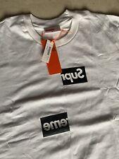 Maglia T Shirt Supreme Comme Des Garcons Tg m