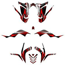 Raptor 700R Graphics Yamaha 700 Kit 2006 2007 2008 2009 2010 2011 2012 #1900RED