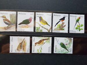 MALAYSIA BIRD 2005 8V COMPLETE SET DEFINITIVE MNH
