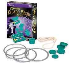 ASTOUNDING ESCAPOLOGY MAGIC TRICKS & ILLUSIONS SET - CHILDREN BEGINNER 21027