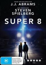Super 8 DVD Movie BRAND NEW SEALED STEVEN SPIELBERG R4