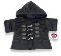 Teddy Bear Clothes fits Build a Bear Teddies Duffel Coat Jacket Bears Clothing