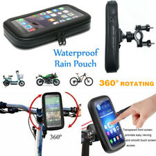 360° Bicycle Motor Bike Waterproof Phone Case Mount Holder For 4-7 inch Phones