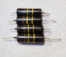 4 - Sprague Bumblebee Pio Capacitors .1 20% 400v - Tested