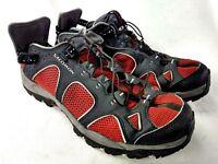 Salomon Techamphian 2 Men Sz 8.5 Black Red Water Sport Shoe DEFECT 81-26