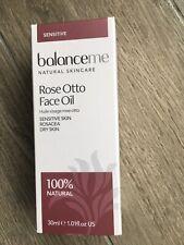 balanceme Rose Otto Face Oil 30ml Brand New Boxed