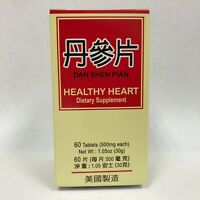 Healthy Heart (Dan Shen Pian) - Supplement for Circulatory System - Made in USA