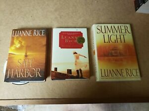 3 Hardback Books by Luanne Rice