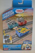Fisher-Price  TrackMaster  Thomas&Friends   Gleisbaustelle + drei Waggons  BDP02