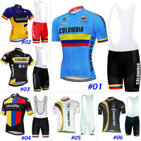 Cycling Jersey Bicycle Shirt Bib Short Bike MTB Jacket Tight Colombia On Sale 4X