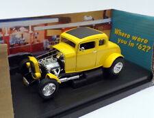 Ertl 1/18 Scale 32078 - American Graffiti 1932 Ford Deuce Coupe - Yellow