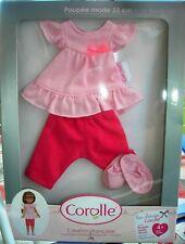Vêtements de poupées de 33 cm - pyjama de marque COROLLE - Les Chéries NEUFS