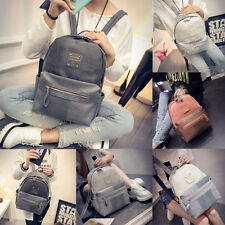 New Fashion Women Casual Backpack School Bags Leather Travel Books Rucksack