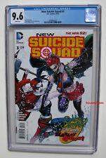NEW SUICIDE SQUAD #3 CGC 9.6 NM+ 2014 Harley Quinn Cover VS Joker's Daughter App