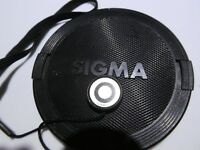 Sigma 72mm Lens Front Cap snap on type   Free Ship Worldwide