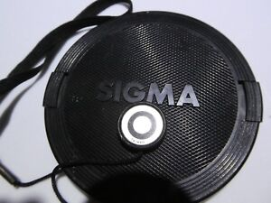 Sigma 72mm Lens Front Cap snap on type Worldwide