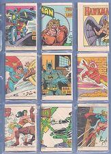 JUSTICE LEAGUE POST CEREAL 1981 COMIC GIVEAWAY PROMO FULL (9) SET (+ BONUS***) !