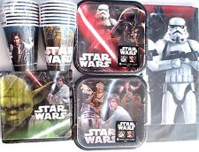 STAR WARS Classic Disney - Birthday Party Supply Kit Pack Set For 16