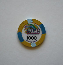 RARE $1000 PALMS CASINO LAS VEGAS NCV POKER SUPERSTARS TOURNEY CHIP