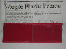 Magic Photo Frame Trick - Appear or Exchange Cards, Close Up, Utility Magic Prop