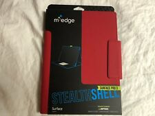 M-Edge Stealth Shell Microsoft Surface Pro 3 Tablet Case RED Brand New