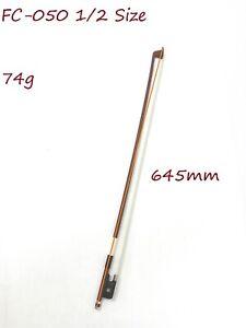 Symphony FC-050 1/2 Size Cello Bow–Brazil-wood, Octagonal Stick, Real Horse Hair