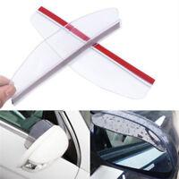 1 Pair Car Rearview Mirror Rain Water Rainproof Eyebrow Cover Side Shield ATBSE