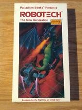 Robotech: The New Generation Vol 5 Rare Vhs Video By Palladium Books Unedited