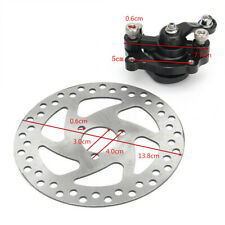 140mm Iron Go Kart ATV Rear Disc Brake Kit With Caliper Durable Electric Scooter