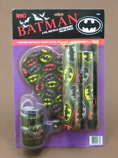 BATMAN 6 PIECE BICYCLE ACCESSORY PACK WATER BOTTLE PADS SEAT COVER