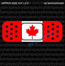 Canada Flag Band-Aid Design Drift Racing Car Vinyl Sticker Decals