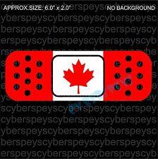 Canada Flag Band-Aid Design Drift Racing Car Vinyl Sticker Decals