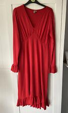 Vestido Rojo Asos maternity talla 12