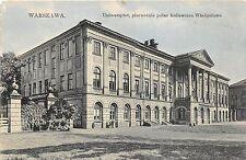 B86541 warszawa warsaw warschau uniwersytet pierwotnie palac krolewicza  poland