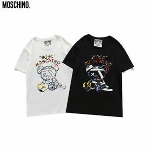 2021MOSCHINO summer new couple short-sleeved T-shirt
