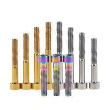 Titanium Ti Bolts Screws M6x10 15 18 20 25 30 35 40 45 50 55 60 70mm Bikes Parts