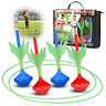 Lawn Darts Glow In The Dark – Set Of 4 Yard Outdoor Darts  For Kids & Adults