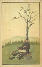 German Red Cross - Soldier Picnic Under Tree Ein Genussreicher Augenblick PC