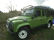Land Rover Defender 110  2.4TD County Station Wagon 5dr with fuel and water tank