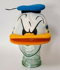Disney Parks Donald Duck Mad Angry Face Foam Hat Mesh Snapback Trucker Cap Nwot