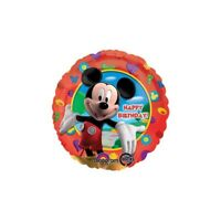 "MICKEY MOUSE HAPPY BIRTHDAY FOIL BALLOON 45CM(18"") ANAGRAM FOIL BALLOONS"